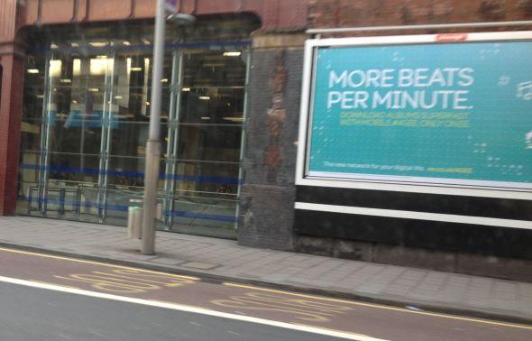 more beats per minute