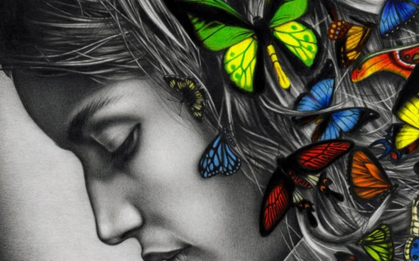 Women-Abstract-Butterfly-Grayscale-Digital-Art-Artwork-1200x1920